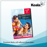優れたWaterproof Inkjet Sticker Photo Paper、150g Glossy Adhesive Photo Paper