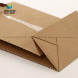 Оптовая торговля пользовательские многократного использования высшего качества печати крафт-бумаги упаковки подарочный пакет