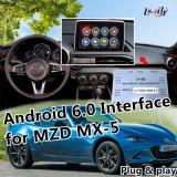 De androïde 6.0 GPS Doos van de Navigatie voor 2014-2018 Mazda mx-5 CX-3 CX-4 CX-5 CX-9 met de Ingebouwde Kaart van Google van de Navigatie van WiFi Mirrorlink Levende