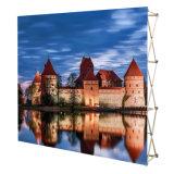 La tensión Fabric Wall como telón de fondo Pop up soporte de pantalla