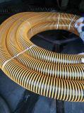 Tubo flessibile flessibile molle di aspirazione del filo di acciaio del tubo di scarico dell'acqua del PVC