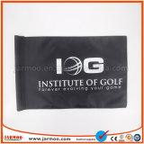 Poliéster 600d colorido y con el tubo de logotipo de la bandera de golf