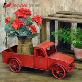 Привлекательные металлические красный цветок погрузчика сеялку для дома и сада, OEM-погрузчик сажалок с удовлетворением отмечает