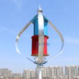 la turbina di vento verticale di asse 300W 1.3m inizia in su 12V 24V con l'imballaggio del generatore di Maglev con il regolatore dell'interruttore di MPPT 12V 24vauto