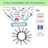 SMF compatibles de Cisco 1550nm a 40km X2 Módulo transceptor óptico de 10g