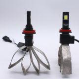 8000lm LEDの霧ランプGt7のスタイルを作るS1 H4 6500K 50W LED車のヘッドライトの球根のFanlessの自動車