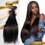 100% необработанные бразильские волосы добавочный номер 100% волос человека