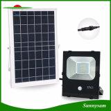 屋外の照明10W 20W 30W 50W 100W動きセンサーの太陽フラッドランプ