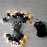 Romantisches wasserdichtes Weihnachten verzierte Draht-Zeichenkette-Lichter