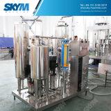 La plastica di vetro automatica ha carbonatato la bevanda 3 del CO2 in 1 macchina di coperchiamento di riempimento di lavaggio