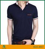 広州の工場安い価格の最もよい品質の人のポロシャツ