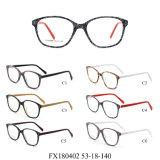 Acetaat Eyewear van de Voorraad van het Frame van de Oogglazen van beelden de Optische In het groot Klaar (FX180402)