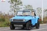 A homologação CE do modelo de veículo utilitário elétrico Resort Hxt02 com rack de backup
