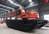 長いアームDoosan 215-9の水陸両用掘削機のための熱い販売