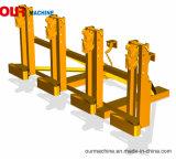 Öl-Trommel-anhebende Schelle des Gabelstapler-Zubehör-vier für das Handhaben der Stahl- oder Plastiktrommeln