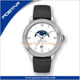 Mechanische Horloge van de Diamant van het Horloge van de Fase van de Maan van de luxe het Automatische