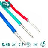Núcleo único cabo eléctrico com isolamento de PVC com condutor de cobre alumínio sólido