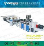 Vitrage PVC + AAS Composite/Bamboo Feuille de toit de la machine