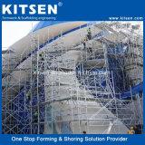 構築のScafolding卸し売りシステム販売(TUV)のためのアルミニウムリングロックの足場