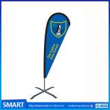 カスタム携帯用二重広告の上陸海岸表示旗