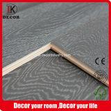 Federación de cable gris roble pulido pisos de madera de ingeniería