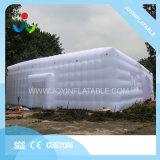 Voyant LED blanc l'air extérieur gonflable Camping tente de cube pour les ventes