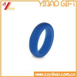 Anello di cerimonia nuziale all'ingrosso poco costoso del silicone di colore della fabbrica