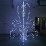 Im Freienled-Weihnachtsseil-Motiv-Lichter für Hauptstraßen-Dekorationen