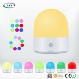 Toque Multi-Color LED de luz de noche USB Smart Lámpara recargable