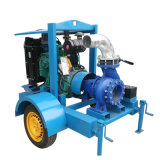 トレーラーによって取付けられる冷水装置のディーゼル機関の排水の水ポンプ