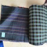 Tessuto 100% della camicia dell'assegno della iarda del cotone