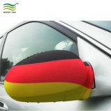 Tapa de espejo lateral del coche bandera con la certificación en71 para la publicidad o promoción