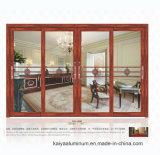 Алюминий спрей Двери деревянные - двери и окна зернового бункера с тремя - Контакт боковой сдвижной двери