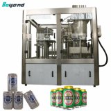 Het sprankelende Vullen die van het Blik van het Bier van de Drank (Drank) Machine om Lijn naaien In te blikken
