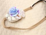 Bandeaux de dentelle en coquille et fleur de Bohemia Beach