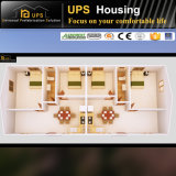 Casa de los paneles concreta prefabricada de acero galvanizada caliente de emparedado