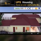 Gute Wärmeisolierung fabrizierte Haus mit bescheinigtem TUV vor