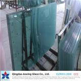 Strato/pianamente vetro temperato/Tempered della radura per costruzione/parete divisoria