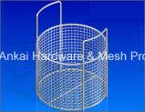 Panier de nettoyage des cylindres en acier inoxydable