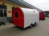 Chariot exploité facile de nourriture personnalisé par qualité fabriqué en Chine