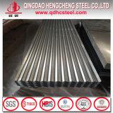Tôle d'acier ondulée galvanisée par Dx51d pour la toiture