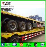 Di 100 tonnellate di Gooseneck della base del rimorchio di Lowboy del camion rimorchio basso semi