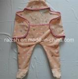 Nueva manta del abrigo del bebé de Fannel del diseño