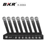 K-808A 8 het Systeem van de Microfoon van Bodyapck van Kanalen