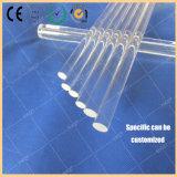 De transparante Staaf van het Glas van het Kwarts van de Staaf van het Kwarts van de Test van het Monokristal van 9mm Duidelijke Gesmolten en de Transparante Staaf van het Kwarts
