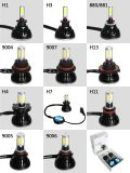 Top Lumin High Low Beam Farol LED 40W 80W 8000lm 4 Side COB Chip