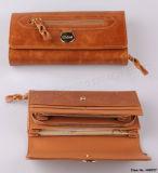 Бумажник новых женщин способа кожаный (HW075/HW077)