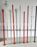 De regelbare Q235 Steiger van de Steun van het Staal met de BuitenBuis van 48mm