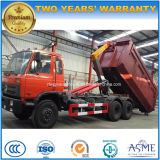 20cbm Dongfeng 6X4 brazo de gancho de leva de 15 T a de 20 T caen el carro de basura para la venta