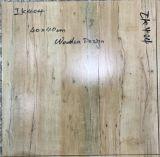 Hölzerner Entwurfs-keramische glasig-glänzende Tintenstrahl-rustikale Wand-Fußboden-Fliesen